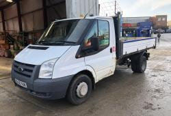 2010 FORD<br>TRANSIT TIPPER