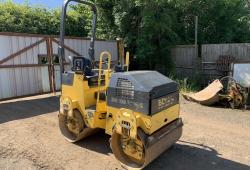 2008 BOMAG<br>100ADM-2 DOUBLE DRUM ROLLER